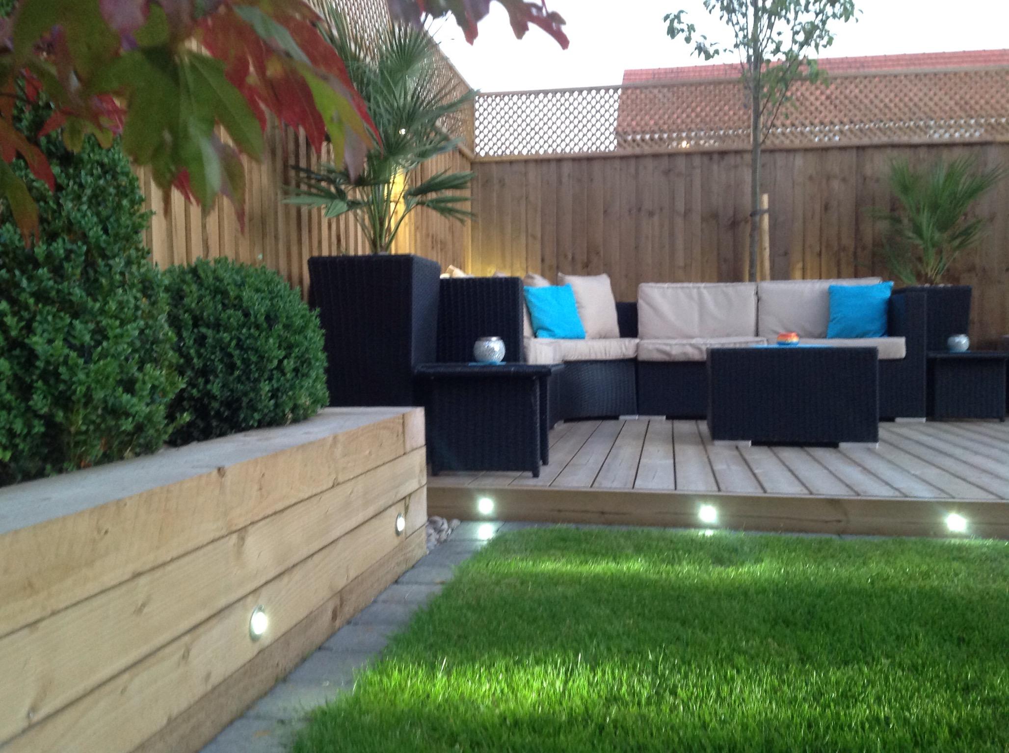 Landscape garden